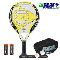 Pala de padel Dunlop Hot Ultra 2017