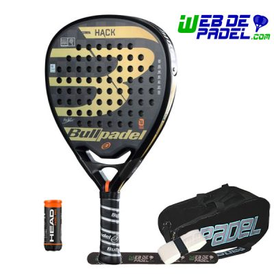 Pala de padel Bullpade Hack 2018