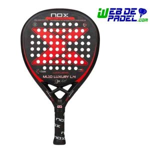 Pala padel NOX ML10 Luxury 2018
