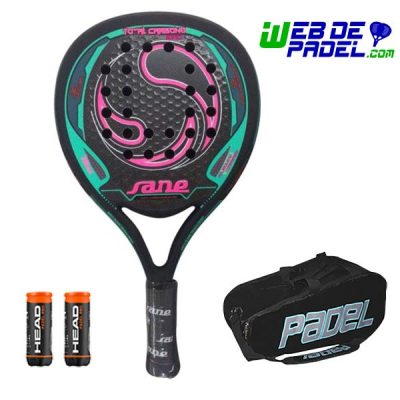 Pala padel Sane Carbon King