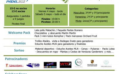 Inscripciones abiertas para el VI Torneo benéfico Atades