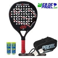 Pala de padel Black Crown Asia
