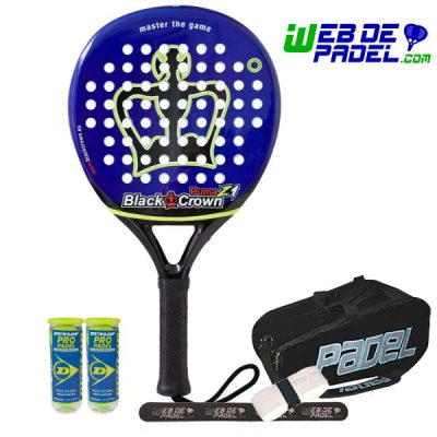 Pala de padel Black Crown Puma Z1