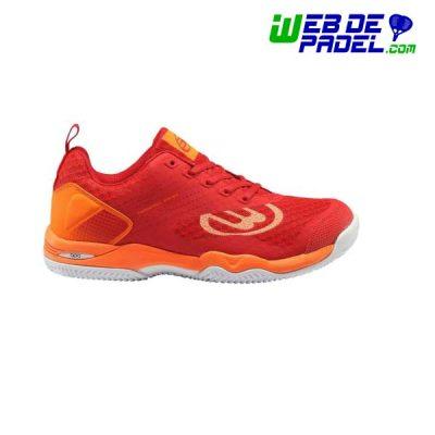 Zapatillas Bullpadel Bitor rojo