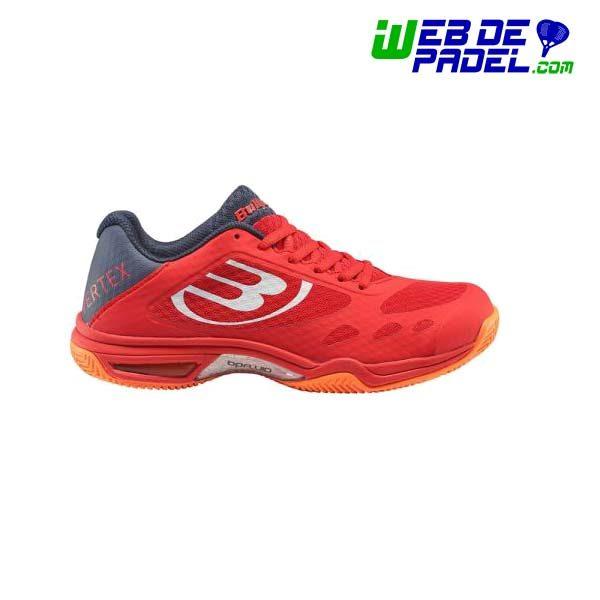 Zapatillas Bullpadel Vertex rojo