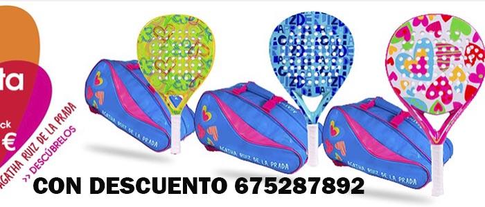 Banner Agatha Ruiz de la Prada 2018 para comprar en tu tienda de palas de padel y deporte al mejor precio