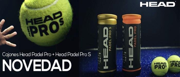 Banner Cajones Head Pro S 2018 para comprar en tu tienda de palas de padel y deporte al mejor precio