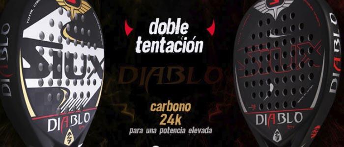 Banner Palas de padel Siux Diablo 2018 para comprar en tu tienda de palas de padel y deporte al mejor precio