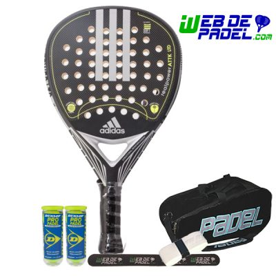 Pala de padel Adidas real power attack ltd