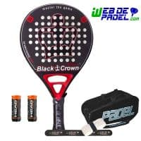 Pala de padel Black Crown Mortal