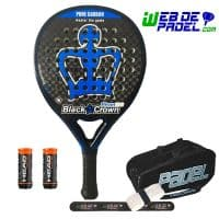 Pala de padel Black Crown Piton 7