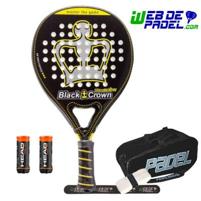 Pala de padel Black Crown Piton 7 Soft