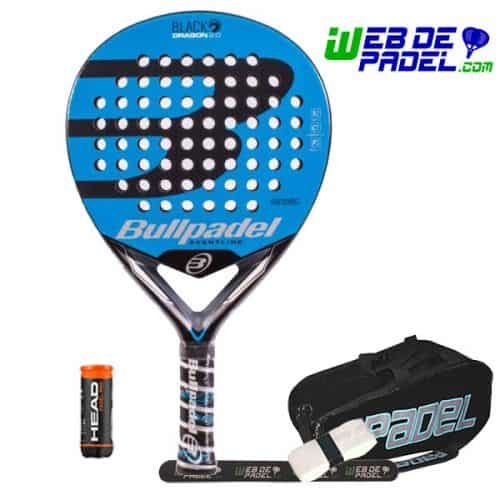 Pala de padel Bullpade Black Dragon 2