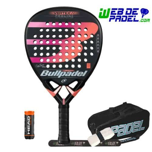 Pala de padel Bullpadel Vertex Woman 2019