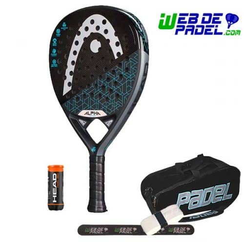 Pala de padel Head Graphene 360 alpha motion 2019