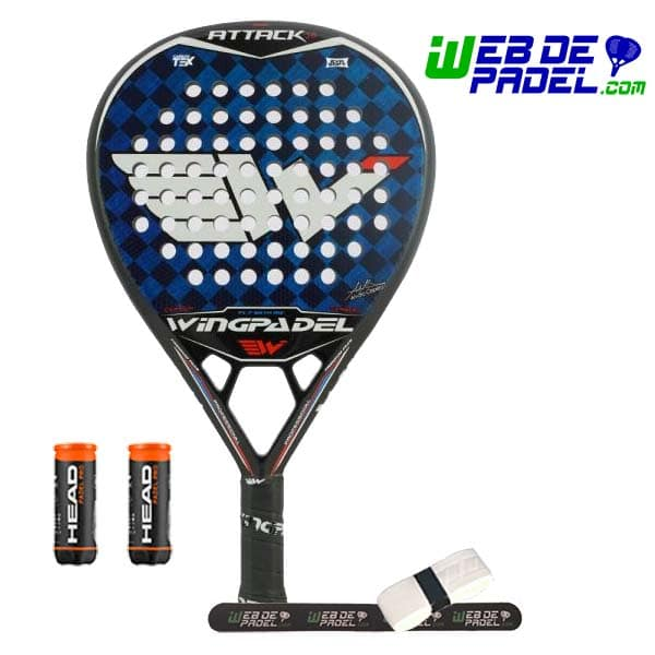 Pala de padel Wingpadel Air Attack 3