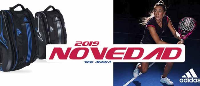 Banner palas de padel Adidas 2019 para comprar en la tienda de palas de padel y deporte online webdepadel.com