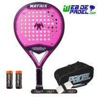 Pala de padel Padel Session Matrix 4 Rosa