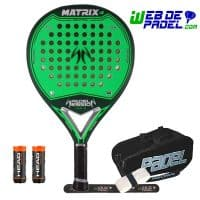 Pala de padel Padel Session Matrix 4 Verde
