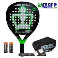 Pala de padel Black Crown Attack 12k 2019