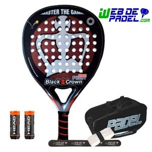 Pala de padel Black Crown Attack 2019
