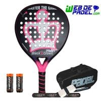 Pala de padel Black Crown Nakano 2019