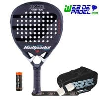 Pala de padel Bullpadel Vertex Black LTD 2020