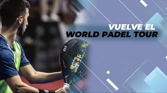 Vuelven las palas del world padel tour 2020