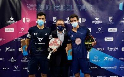 Finalistas del Estrella Damm Open Madrid 2020, Dupla Navarro y Lima