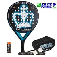 Pala de padel Black Crown Grizzly