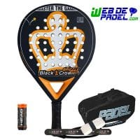Pala de padel Black Crown Grizzly Control