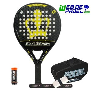 Pala de padel Black Crown Omni LTD