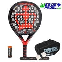 Pala de padel Black Crown Piton 8