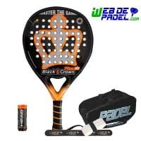 Pala de padel Black Crown Piton Air 2020