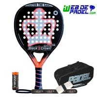 Pala de padel Black Crown Piton Attack Plus