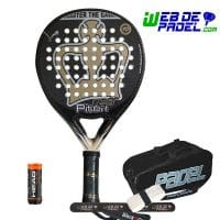 Pala de padel Black Crown Piton Legend