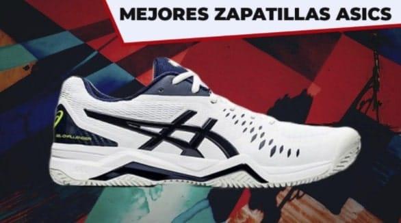 Las mejores zapatillas Asics para jugar al pádel